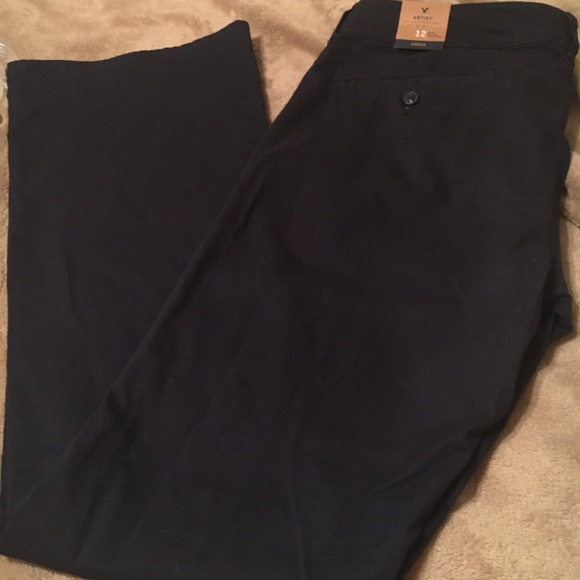 American Eagle Outfitters Pants - NWT AE Outfitters size 12 Long Navy Artist pants